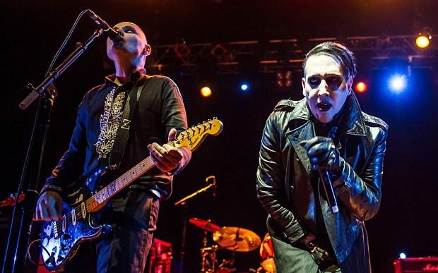 Billy Corgan and Marilyn Manson - COURTESY