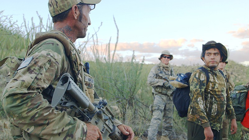 Not your typical conflict flick: A look at the role of vigilantes in the drug war playing out on both sides of the U.S.-Mexico border. - COURTESY