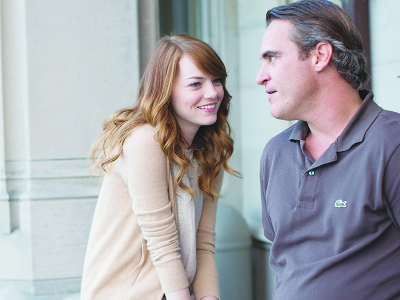 Emma Stone and Joaquin Phoenix star in Woody Allen's latest cinematic offiering. - COURTESY