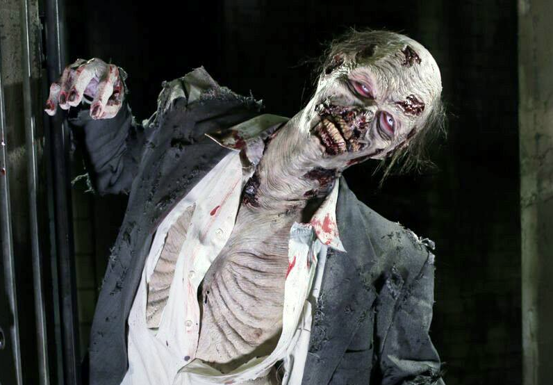 The zombie make-up skills you may pick up may be a valuable resume booster. - COURTESY