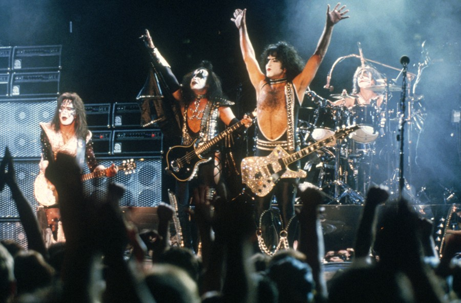 KISS is considered one of the loudest bands of all time. - COURTESY