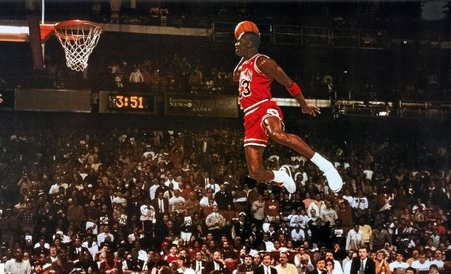 Michael Jordan's profits are soaring like the '88 Dunk Contest - VIA FLICKR