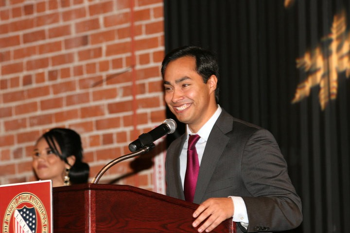In Iowa, Rep. Joaquin Castro questioned Sen. Bernie Sanders' commitment to the Latino community. - WIKIMEDIA COMMONS