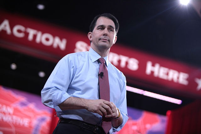 Wisconsin Governor Scott Walker will campaign in San Antonio tomorrow. - VIA GAGE SKIDMORE/WIKIMEDIA COMMONS