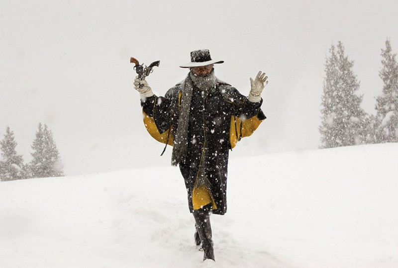Samuel L. Jackson in The Hateful Eight. - COURTESY