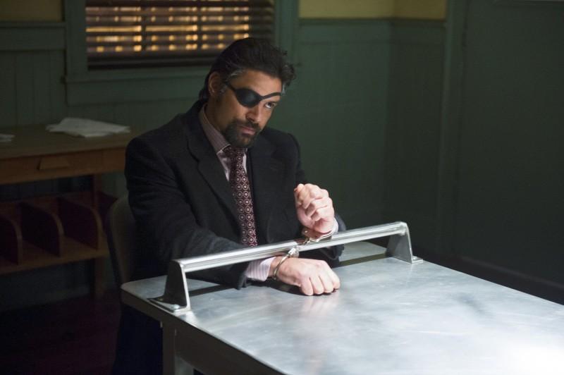 Manu Bennett as Slade Wilson/Deathstroke in season 3 of Arrow. - COURTESY