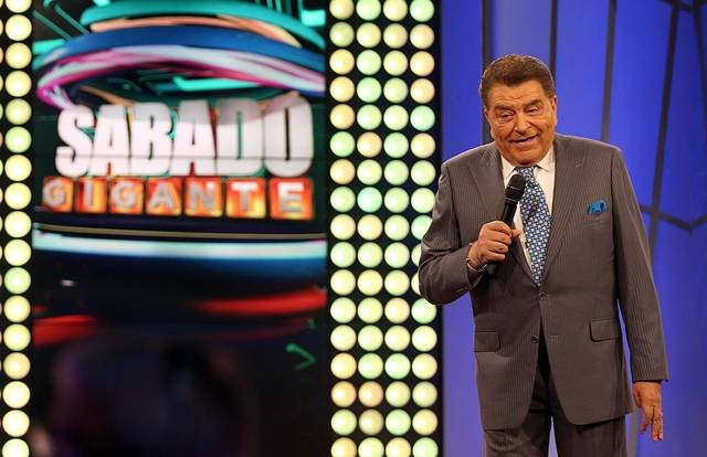 Sabado Gigante ends its historic television run on Saturday. - COURTESY