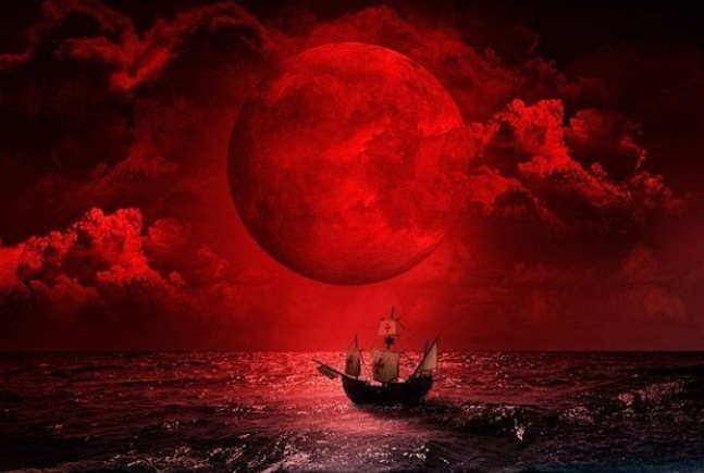 red moon rising meaning - photo #38