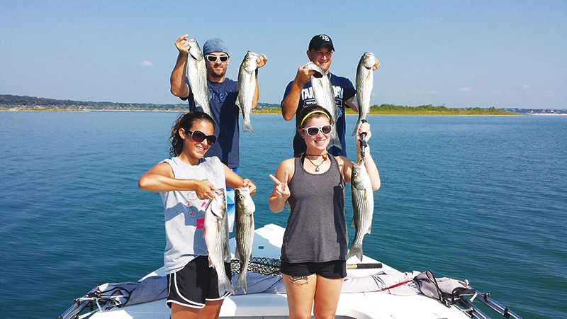 Fall fishing opportunities for anglers abound around town for Medina lake fishing