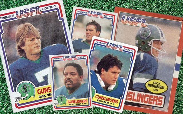 The San Antonio Gunslingers played at Alamo Stadium for just two seasons. - SAN ANTONIO CURRENT