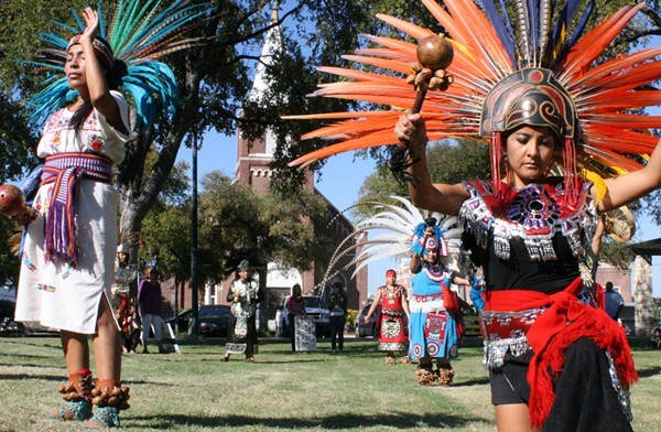Dancers at Columbus Park during the 2010 Indigenous Rights March. - FILE PHOTO