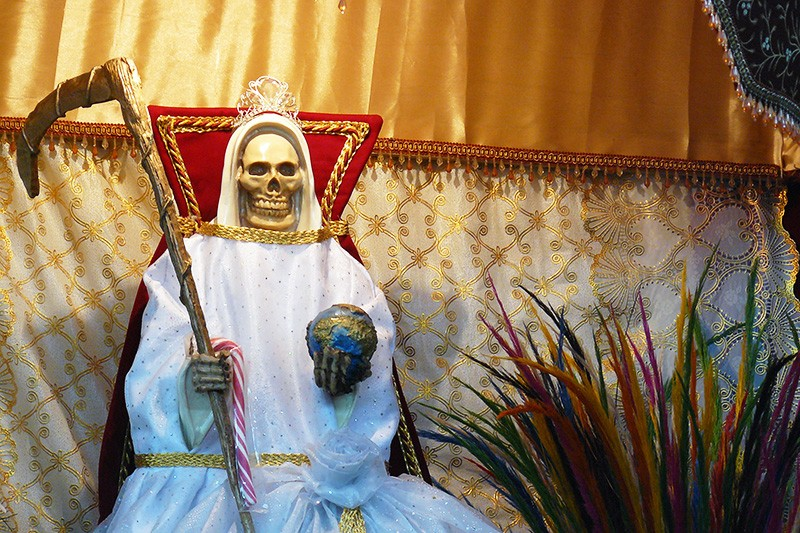 Searching for Santa Muerte in SA | News Etc  | San Antonio | San