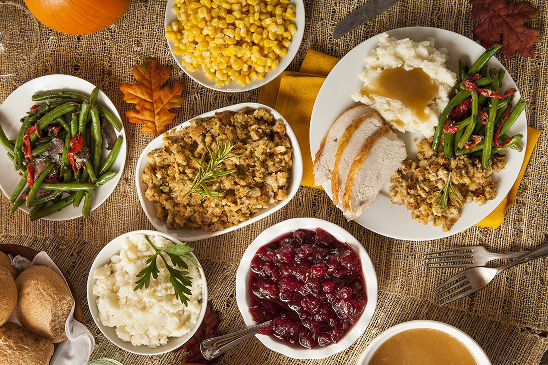 thanksgiving dinner plate ideas