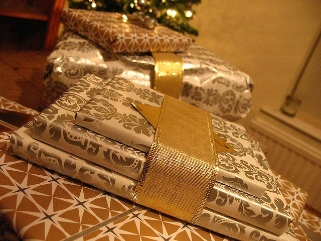 Those presents don't come cheap. - FLICKR CREATIVE COMMONS