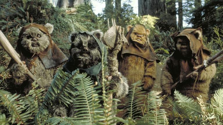 The Ewoks were the best part. - COURTESY