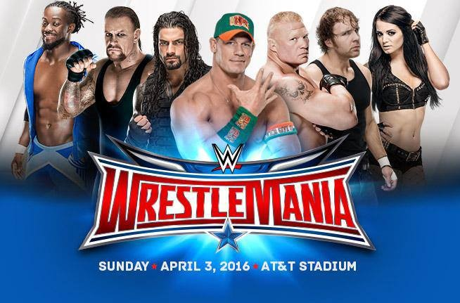 WWE WRESTLEMANIA 32 | FACEBOOK