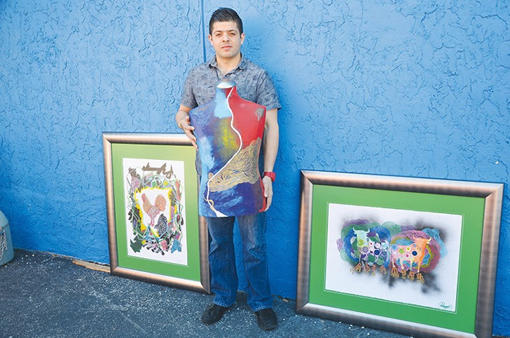 Carlos Guerrero learned his craft from a well-known border artist, not a university.