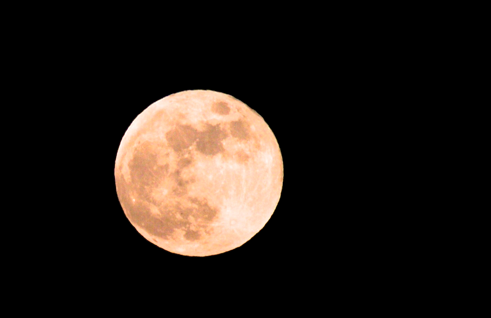 Rare Occurrence As Strawberry Moon Aligns With Summer