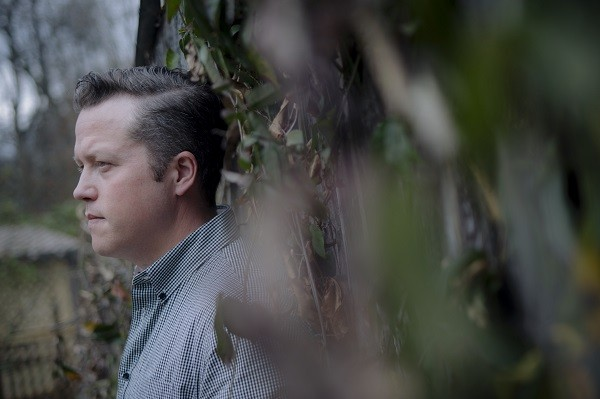 Jason Isbell wearing the poet's stare of contemplation. - PHOTO CREDIT: DAVID MCCLISTER
