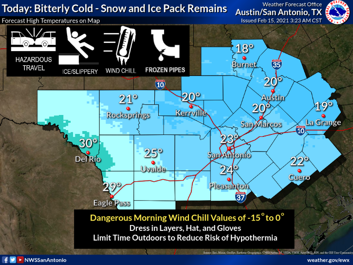 Rare Deep Freeze Leaves More Than 2 Million Texas Customers Without Power