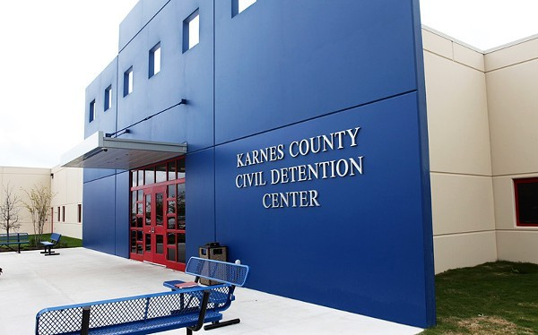 Immigrant-rights groups have long called for the closure for the private family detention center in Karnes City, south of San Antonio. - WIKIMEDIA COMMONS