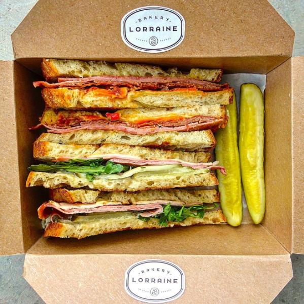 Italian sandwich (above) and Cuban sandwich (below) -  INSTAGRAM/SANANTONIOFOODGUY