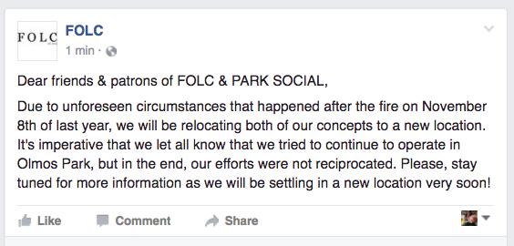 FACEBOOK/FOLC