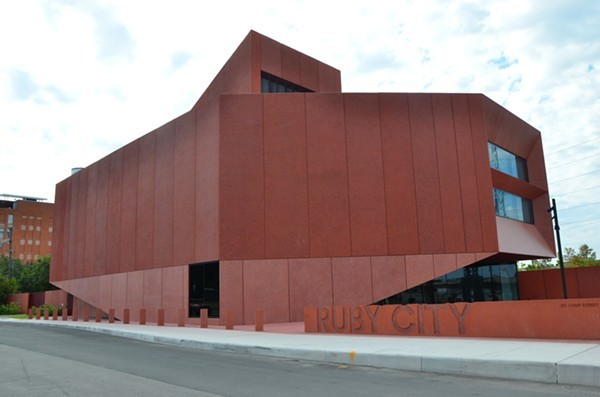 On Thursday, Ruby City reopens its doors to the public after closing in March 2020. - BRYAN RINDFUSS