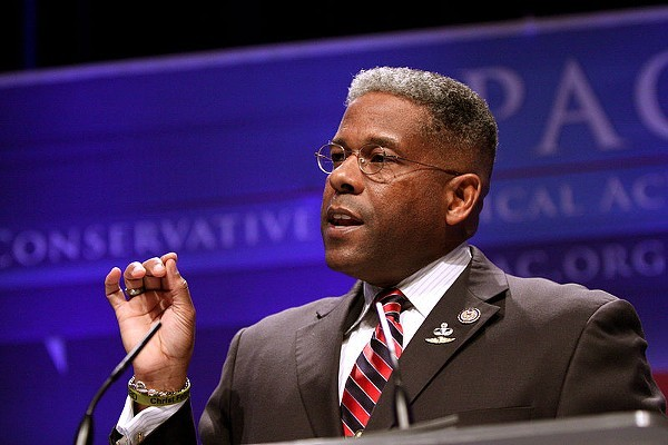 Allen West has repeatedly butted heads with the Texas GOP during his time as chairman. - WIKIMEDIA COMMONS / GAGE SKIDMORE