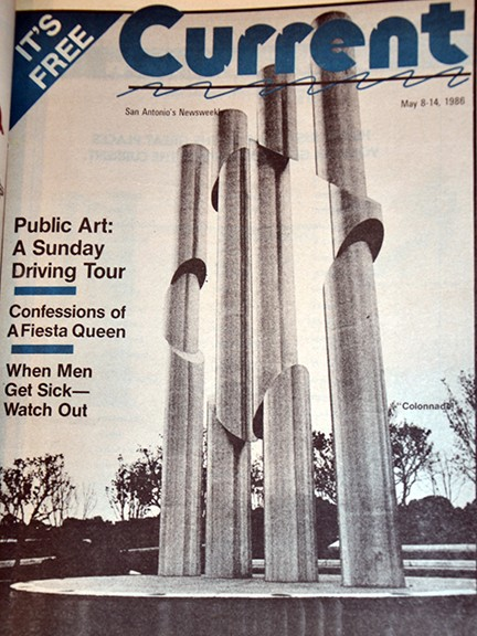 The Current's 1986 cover story on public art in San Antonio