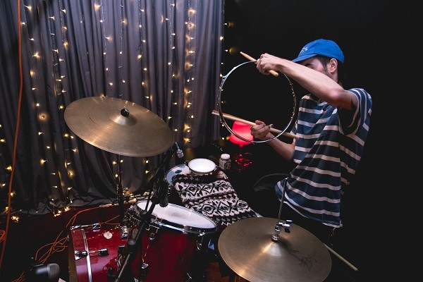 Dane Rousay with implements. - PHOTO CREDIT: OSCAR MORENO