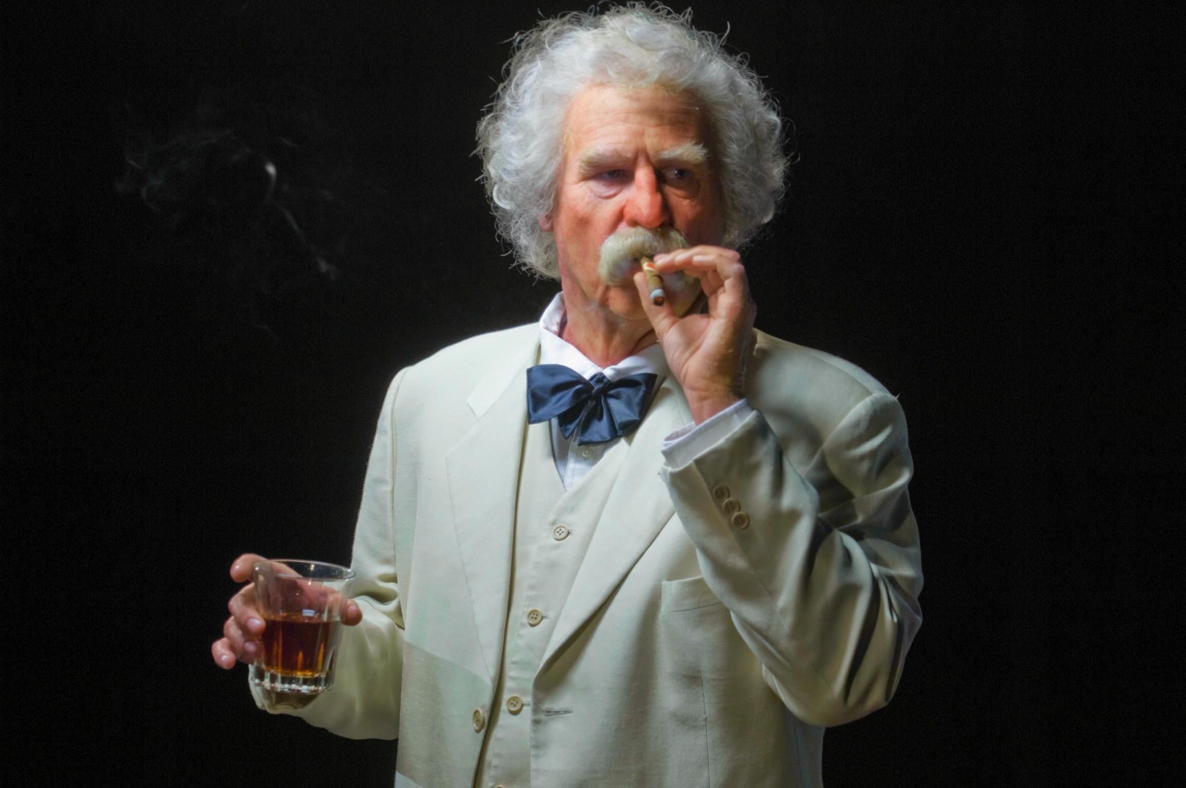 Resultado de imagem para Mark Twain