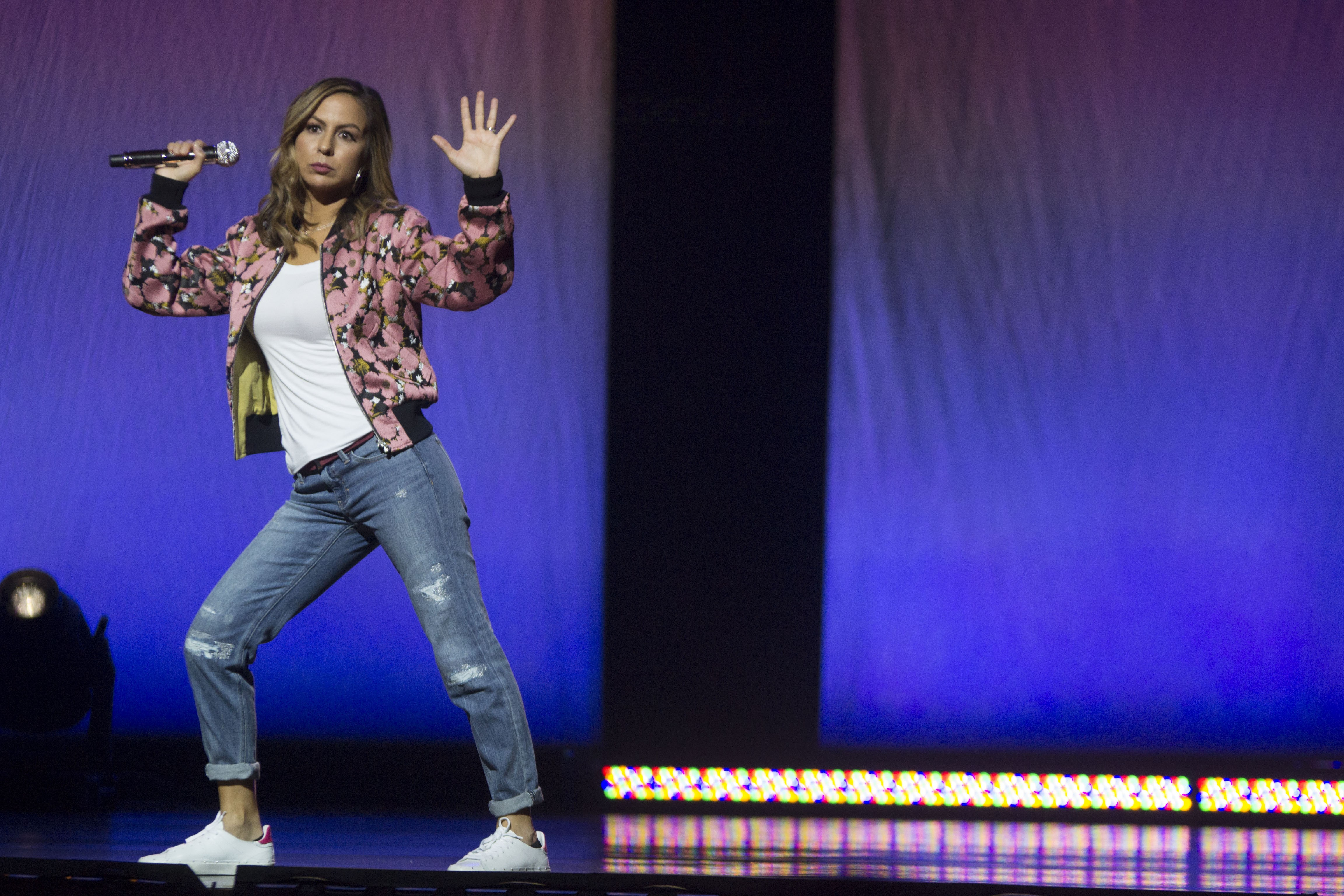 Character Building: Anjelah Johnson Keeps It Real with Mahalo and ...