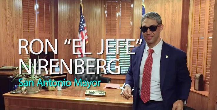 Mayor Ron Nirenberg - SCREENSHOT VIA FACEBOOK, JUANY TORRES