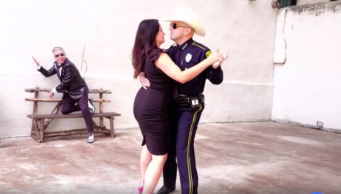 Sheriff Javier Salazar & wife Sarah Gregory Salazar - SCREENSHOT VIA FACEBOOK, JUANY TORRES