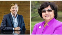 Lupe Valdez, Andrew White Clash Over Abortion, Immigration in Debate