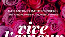 Vive L'amour: The Annual Musical Shower of Roses