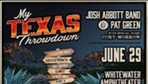Josh Abbott Band & Pat Green w/ Cory Morrow