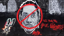 Local Artists Are Erasing Kawhi Leonard from San Antonio's Landscape