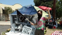 Texas Neo-Nazi Group Attacks San Antonio's Occupy ICE Encampment