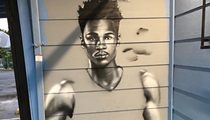 Dejounte Murray Added to Ever-growing Spurs Mural at South Side Staple