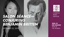 Salon Saénce – Conjuring Benjamin Britten