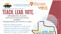 Teach, Lead, Vote, Community Meeting