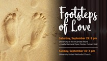 "San Antonio Chamber Choir presents ""Footsteps of Love"""