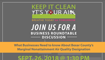 What Businesses Need to know About Bexar County's Marginal Nonattainment Air Quality Designation