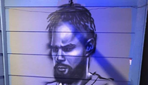 Patty Mills Finally Added to Huge Spurs Mural at South Side Restaurant