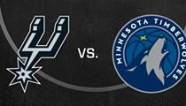 San Antonio Spurs vs. Minnesota Timberwolves