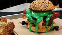 San Antonio Burger Shop Adds Halloween Specials Complete with Radioactive Queso