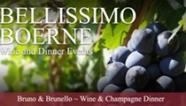Bruno & Brunello Wine and Champagne Dinner
