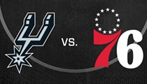 San Antonio Spurs vs. Philadelphia 76ers
